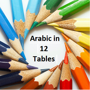 Arabic in 12 tables